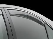 Audi A4 2009-2014 - Дефлекторы окон (ветровики), задние, светлые. (WeatherTech) фото, цена