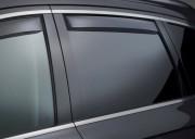 Audi A4 2009-2014 - (Avant) Дефлекторы окон (ветровики), задние, темные. (WeatherTech) фото, цена