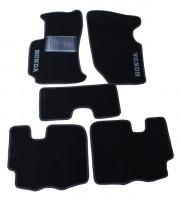 Honda CR-V 2007-2011 - Коврики тканевые, черные, комплект 4 штуки. (CIAK)  фото, цена