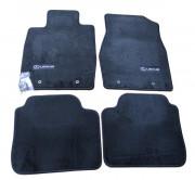 Lexus ES 1999-2005 - Коврики тканевые к-т 4 шт. черные (Lexus) фото, цена