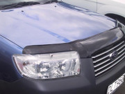 Subaru Forester 2002-2007 - Дефлектор капота (мухобойка). Airplex. фото, цена