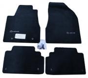 Lexus RX 2003-2009 - Коврики тканевые к-т 4 шт. (Lexus). Hibrid, черный фото, цена