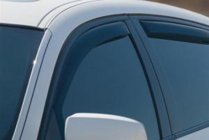 BMW X6 2008-2014 - Дефлекторы окон (ветровики), передние, темные. (WeatherTech) фото, цена