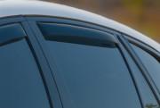 BMW X6 2008-2014 - Дефлекторы окон (ветровики), задние, темные. (WeatherTech) фото, цена