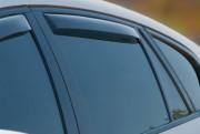 BMW X6 2008-2014 - Дефлекторы окон (ветровики), задние, светлые. (WeatherTech) фото, цена