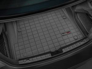 BMW 4 2014-2016 - Коврик резиновый в багажник, черный. (WeatherTech) фото, цена
