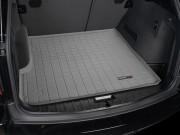 BMW X3 2003-2010 - Коврик резиновый в багажник, серый. (WeatherTech) фото, цена