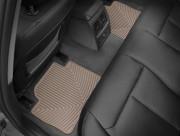 BMW 3 2012-2019 - Коврики резиновые, задние, бежевые. (WeatherTech) фото, цена