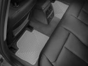 BMW 3 2012-2019 - Коврики резиновые, задние, серые. (WeatherTech) фото, цена