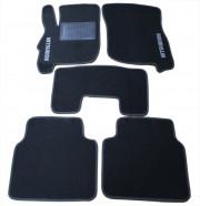 Mitsubishi Galant 2004-2014 - Коврики тканевые, серые, комплект 4 штуки. (CIAK)  фото, цена