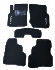 Nissan Almera 2000-2006 - Коврики тканевые, серые, комплект 4 штуки. (CIAK)  фото, цена