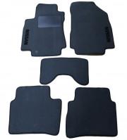 Nissan Tiida 2004-2014 - Коврики тканевые, серые, комплект 4 штуки. (Украина)  фото, цена