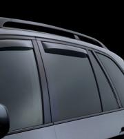Buick Enclave 2008-2014 - Дефлекторы окон (ветровики), задние, темные. (WeatherTech) фото, цена