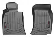 Cadillac CTS 2014-2016 - (AWD) Коврики резиновые с бортиком, передние, черные. (WeatherTech) фото, цена