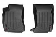 Cadillac CTS 2008-2013 - (AWD) Коврики резиновые с бортиком, передние, черные. (WeatherTech) фото, цена