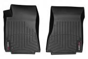 Cadillac CTS 2008-2013 - (RWD) Коврики резиновые с бортиком, передние, черные. (WeatherTech) фото, цена