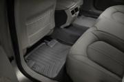 Cadillac CTS 2008-2013 - Коврики резиновые с бортиком, задние, черные. (WeatherTech) фото, цена