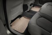 Cadillac CTS 2008-2013 - Коврики резиновые с бортиком, задние, бежевые. (WeatherTech) фото, цена