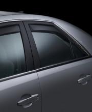 Cadillac CTS 2008-2013 - Дефлекторы окон (ветровики), задние, темные. (WeatherTech) фото, цена