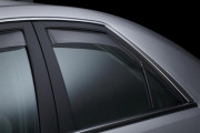 Cadillac CTS 2008-2013 - Дефлекторы окон (ветровики), задние, светлые. (WeatherTech) фото, цена