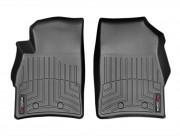 Cadillac ELR 2014 - Коврики резиновые с бортиком, передние, черные. (WeatherTech) фото, цена