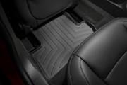 Cadillac ELR 2014 - Коврики резиновые с бортиком, задние, черные. (WeatherTech) фото, цена