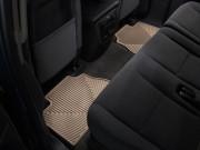 Cadillac Escalade 2007-2014 - Коврики резиновые, задние, бежевые. (WeatherTech) фото, цена