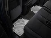 Cadillac Escalade 2007-2014 - Коврики резиновые, задние, серые. (WeatherTech) фото, цена