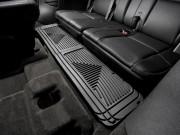 Cadillac Escalade 2007-2014 - Коврики резиновые с бортиком, задние, 3 ряд сидений, черные. (Weathertech) фото, цена