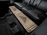 Cadillac Escalade 2007-2014 - Коврики резиновые с бортиком, задние, 3 ряд сидений, бежевые. (Weathertech) фото, цена