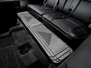 Cadillac Escalade 2007-2014 - Коврики резиновые с бортиком, задние, 3 ряд сидений, серые. (Weathertech) фото, цена