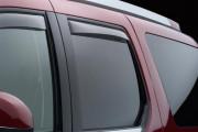 Cadillac Escalade 2007-2014 - Дефлекторы окон (ветровики), задние, светлые. (WeatherTech) фото, цена