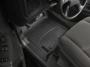 Cadillac Escalade 2002-2006 - Коврики резиновые с бортиком, передние, черные. (WeatherTech) фото, цена
