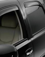 Cadillac Escalade 2002-2006 - Дефлекторы окон (ветровики), задние, темные. (WeatherTech) фото, цена