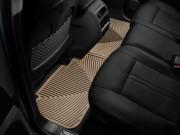 Cadillac SRX 2010-2016 - Коврики резиновые, задние, бежевые. (WeatherTech) фото, цена