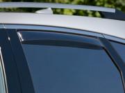 Cadillac SRX 2010-2014 - Дефлекторы окон (ветровики), задние, темные. (WeatherTech) фото, цена