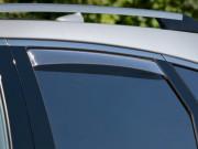 Cadillac SRX 2010-2014 - Дефлекторы окон (ветровики), задние, светлые. (WeatherTech) фото, цена
