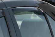 Cadillac STS 2005-2011 - Дефлекторы окон (ветровики), задние, темные. (WeatherTech) фото, цена