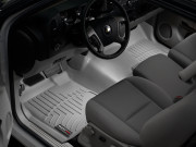 Chevrolet Silverado 2015 - Коврики резиновые с бортиком, передние, серые. (WeatherTech) фото, цена