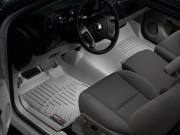 Chevrolet Tahoe 2011-2014 - Коврики резиновые с бортиком, передние, серые. (WeatherTech) фото, цена