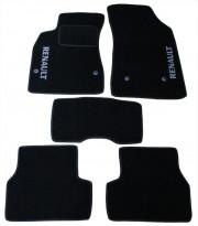 Renault Fluence 2009-2014 - Коврики тканевые, черные, комплект 4 штуки. (Fortuna)  фото, цена
