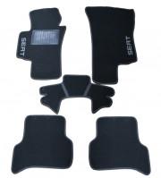 Seat Altea 2004-2014 - Коврики тканевые, черные, комплект 4 штуки. (CIAK)  фото, цена