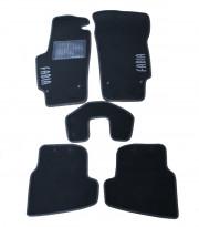 Skoda Fabia 2008-2014 - Коврики тканевые, серые, комплект 4 штуки. (CIAK)  фото, цена