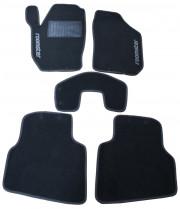 Skoda Roomster 2006-2014 - Коврики тканевые, серые, комплект 4 штуки. (CIAK)  фото, цена