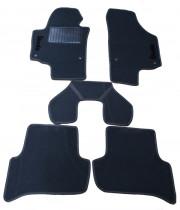 Skoda Yeti 2009-2014 - Коврики тканевые, серые, комплект 4 штуки. (ML)  фото, цена