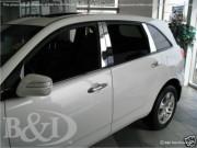 Acura MDX 2007-2013 - Накладки на стойки хромированные, комплект 6 штук. (SES) фото, цена