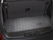 Chevrolet Traverse 2009-2014 - (7 мест) Коврик резиновый в багажник, черный. (WeatherTech) фото, цена
