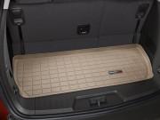 Chevrolet Traverse 2009-2014 - (7 мест) Коврик резиновый в багажник, бежевый. (WeatherTech) фото, цена