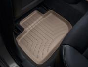 Chrysler 300C 2011-2014 - Коврики резиновые с бортиком, задние, бежевые. (WeatherTech) фото, цена