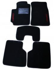 Toyota Camry 2001-2005 - Коврики тканевые, черные, комплект 5 шт. (Super Well) фото, цена